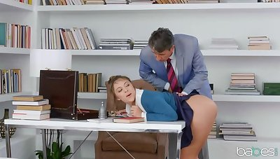 Gia Derza is An obstacle Anal Secretary!