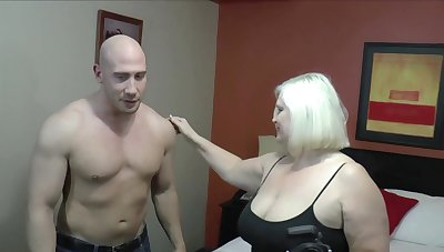Nothing makes Lacey Starr happier than sucking and riding a detect