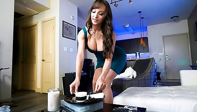 The nurse is not against some hot sex all round her sweetheart near the first pers...