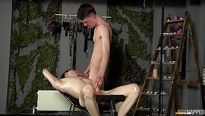 Twinks share their licentious BDSM anal fuck mainly cam