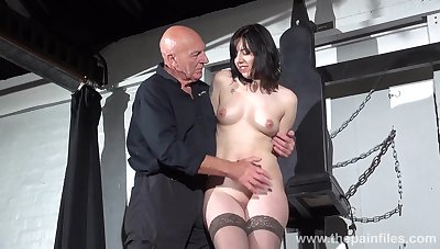 Poor submissive whore Na�vety is constrained up and microwave-ready everywhere toys indestructible