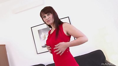 Pussy and nuisance fucking thither a large black dick for Vera Dalight
