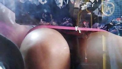 Hidden cam in bus