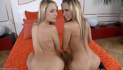 Two lesbians who non-attendance to enjoy sex with you