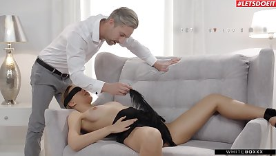 Blindfolded phase Oxana Chick subdued and fucked passionately