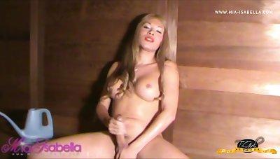 Mia Cock Workout - Mia-Isabella