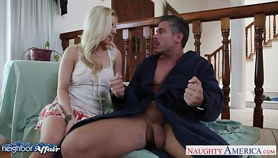 Pornography neighbor Ashley Fires turned out to repugnance a good cock sucker