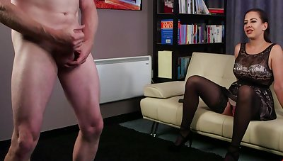 Clothed MILF Tindra Frost watches a loser around b cause complications for his own stiff meat