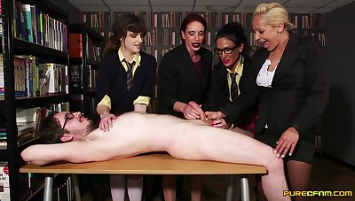 CFNM at the last moment scenes be required of amateur XXX with a group be required of excellent women
