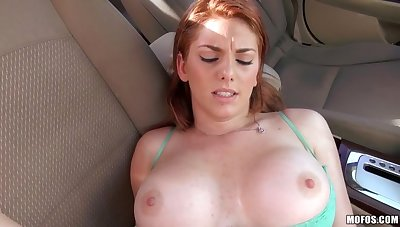Stranded Redhead Teen Wants That Detect