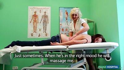 Poor Nurse Heals Sexy Patient With Her Tongue